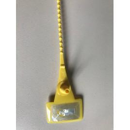 Collier scellé nylon jaune, NFC type longueur 470mm