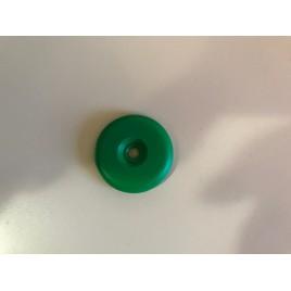 Tag RFID vert perforé en PA6 pour métal et haute température HF mifare 1s50