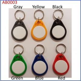 RFCOPCAB00NOBA003 porte clés RFID en ABS LF puce TK4100