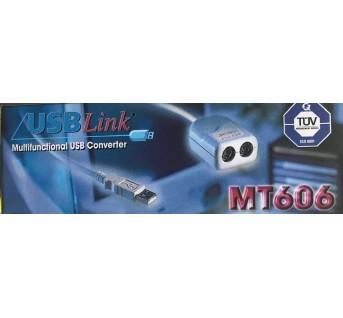 MT606-3 kit décodeur PS+convertisseur USB pour PC