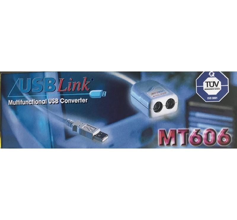 MT606-3 kit décodeur ps2 vers usb pour PC IBC FRANCE code barre