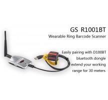 GS-R1001BT lecteur laser 1D bluetooth  pour doigt avec antenne  BT additionnelle