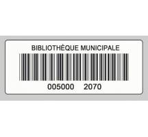 RFCOETPA2BLBA002 étiquette RFID HF papier blanc autocollante Mifare ultralight NFC type 2