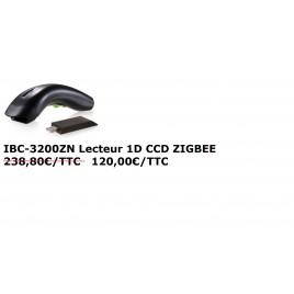 IBC-3200ZN Douchette CCD 1D sans fil, transmission Zigbee+ socle USB