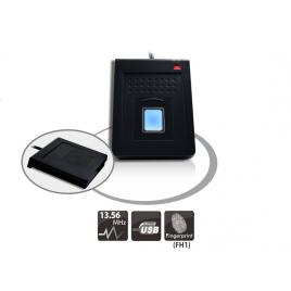 Lecteur RFID HF 13,56Mhz USB-Clavier avec empreinte digitale