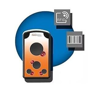 Lecteur 1D RFID HF ISO 14443A ISO15693 BT WIFI USB