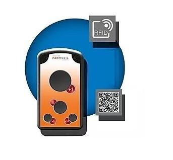 Lecteur 2D RFID HF ISO 14443A ISO15693 BT WIFI USB