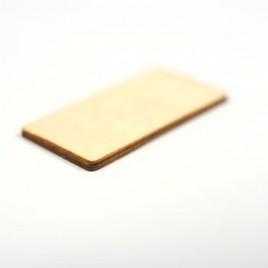 Tags rectangulaire bois RFID HF 13.56Mhz ICODE SLIX