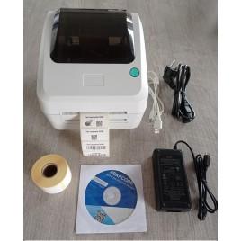 DC200 imprimante USB d'étiquettes thermique directe résolution 203dpi (8 pts/mm) DISTRICODE