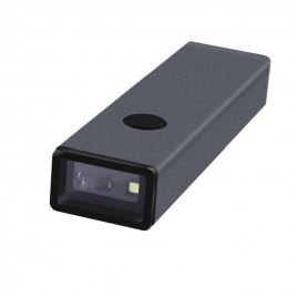 DC8 mini lecteur code barres 2D sans fil durci avec boîtier en aluminium haute résistance
