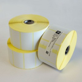 Étiquette transfert thermique Velin 25*50